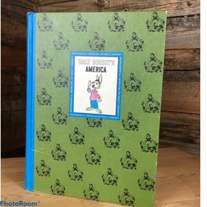Vintage WALT DISNEY'S AMERICA hardcover book 1965